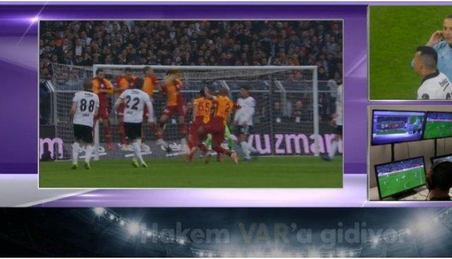 Beşiktaş - Galatasaray derbisine VAR damgası