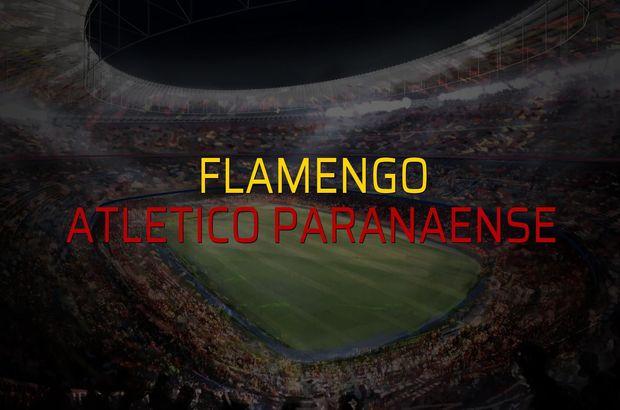 Flamengo: 1 - Atletico Paranaense: 2 (Maç sona erdi)