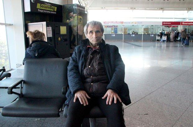 Havalimanında kalan adam