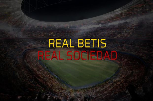 Real Betis: 1 - Real Sociedad: 0 (Maç sonucu)
