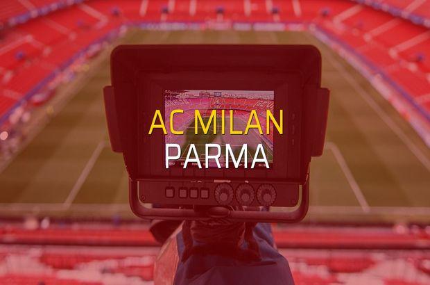 AC Milan: 2 - Parma: 1 (Maç sonucu)