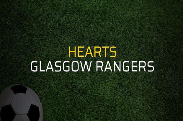 Hearts: 1 - Glasgow Rangers: 2
