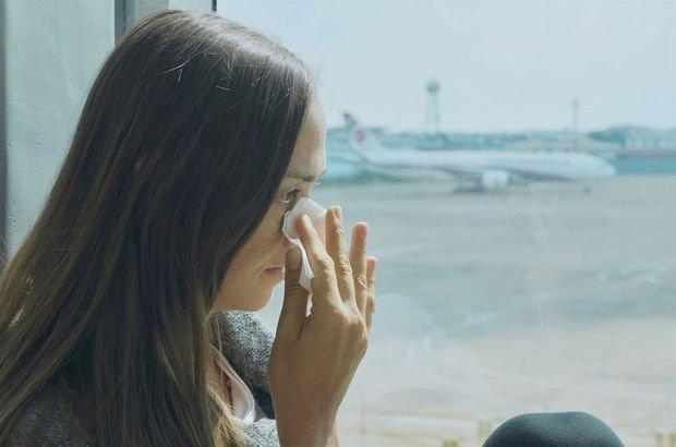 Uçak yolculuklarında ağlamak