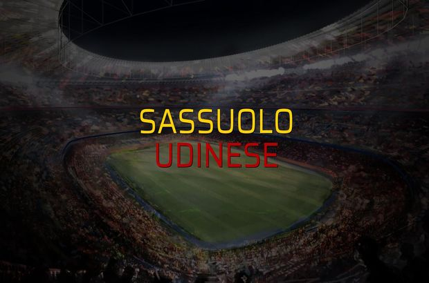 Maç sona erdi: Sassuolo: 1 - Udinese:0