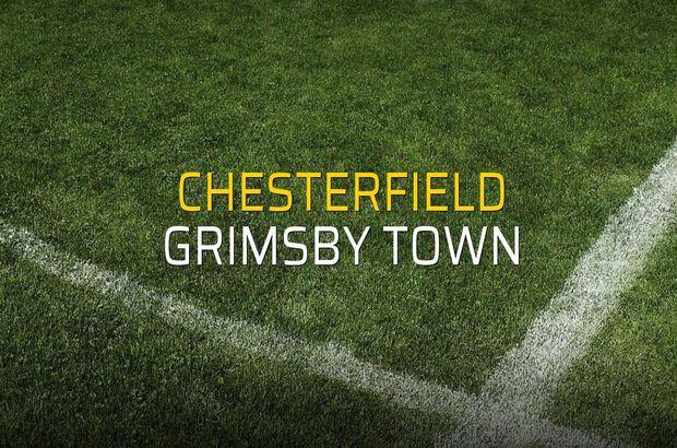 Chesterfield: 0 - Grimsby Town: 2 (Maç sona erdi)