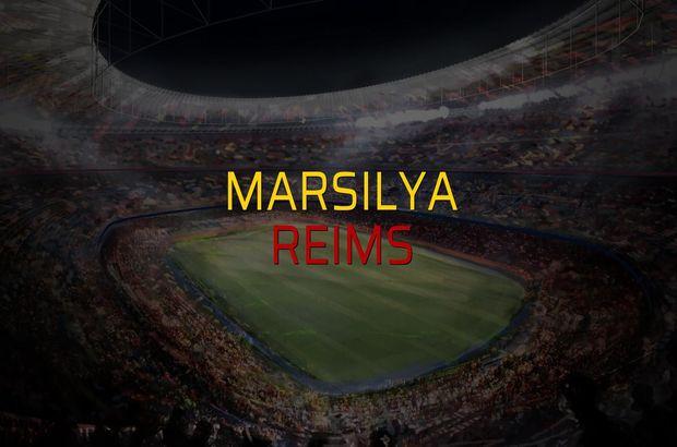 Marsilya: 0 - Reims: 0