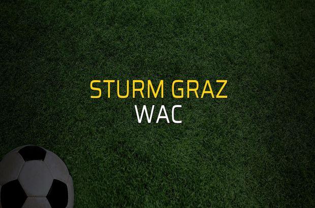 Sturm Graz: 3 - WAC: 0 (Maç sona erdi)