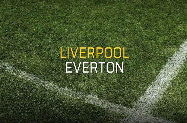 Maç sona erdi: Liverpool: 0 - Everton:0
