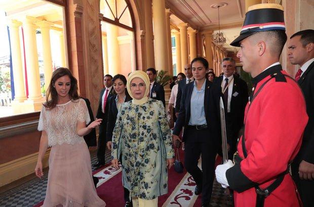 Emine Erdoğan Paraguay'da