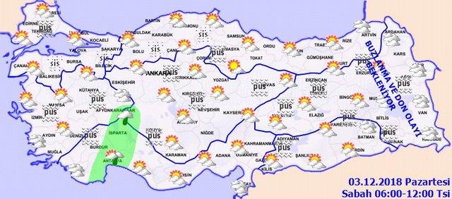 Hava durumu uyarısı:  Sel, don ve buzlanma! İşte, Meteoroloji bölge bölge ve İstanbul hava durumu