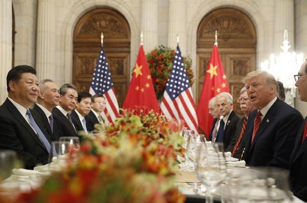 Trump ve Çin Devlet Başkanı Xi Jinping, Cumartesi günü yaptıkları görüşmede, müzakerelere fırsat tanımak için iki ülke arasında süren ticaret savaşında 90 günlük bir ateşkesi kabul etmişlerdi.