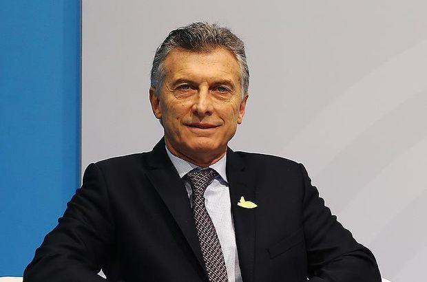 Arjantin Devlet Başkanı Macri