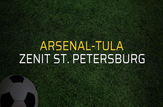Arsenal-Tula: 4 - Zenit St. Petersburg: 2 (Maç sona erdi)