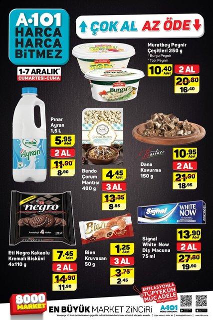 A101 1-7 Aralık Aktüel ürünler kataloğu inceleyin! A101'de bu hafta hangi ürünler indirimli?