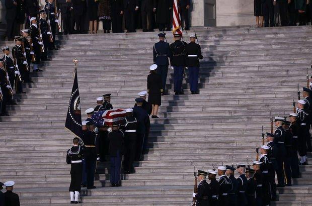 ABD George H. W. Bush  tören