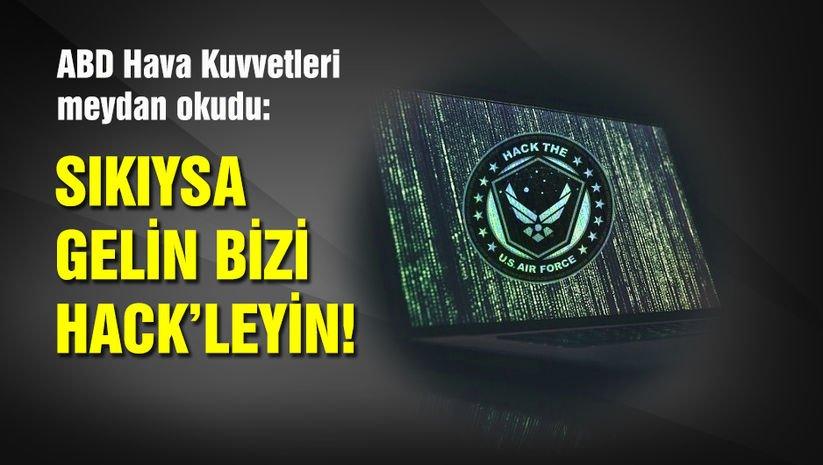 ABD Hava Kuvvetleri 'hacker'lara meydan okudu