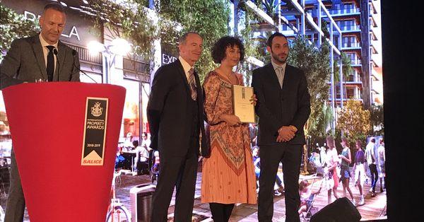 Avrupa'nın en iyi karma projesi ödülü Türkiye'ye