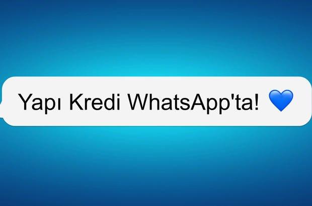 yapı kredi whatsapp