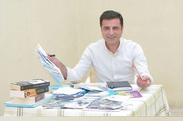Demirtaş ve 2 HDP'linin cezaları onandı