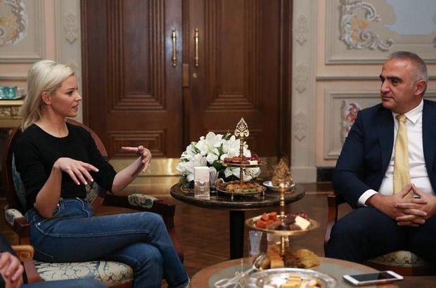Kültür ve Turizm Bakanı Ersoy