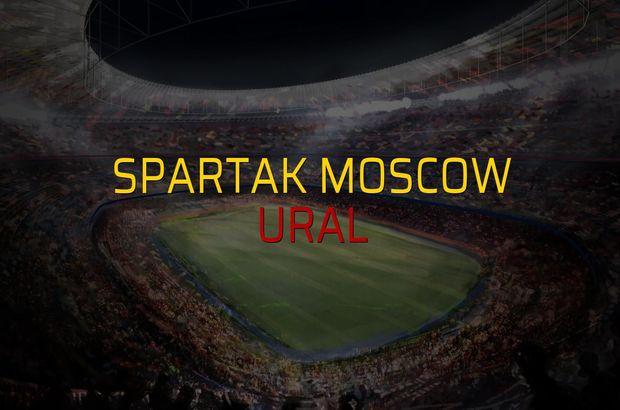 Spartak Moscow - Ural maç önü