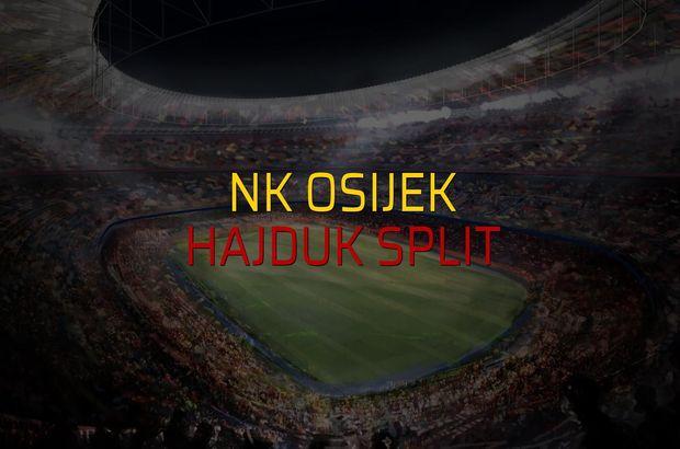 NK Osijek - Hajduk Split maçı heyecanı