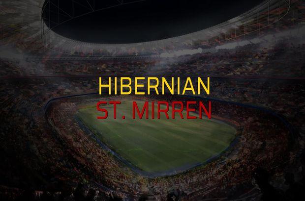 Hibernian - St. Mirren düellosu