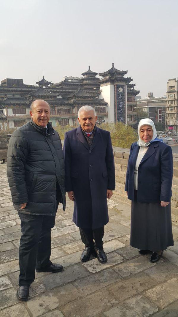 Yıldırım Xi'an kentini ziyaret etti, Terra Cotta Müzesi'ni gezdi.