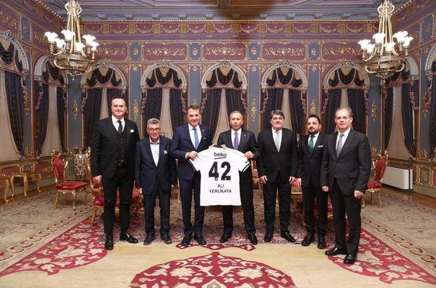 Fikret Orman Beşiktaş  İstanbul Valisi Ali Yerlikaya