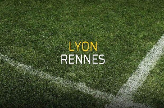 Lyon: 0 - Rennes: 2 (Maç sonucu)