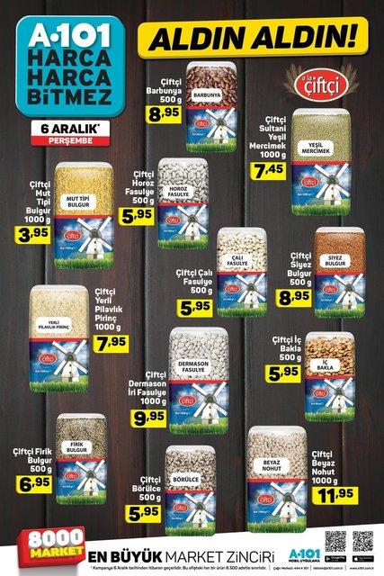 A101 6 Aralık 2018: Aktüel ürünler satışa çıktı! İşte A101'in bugünkü kampanyalı ürünleri