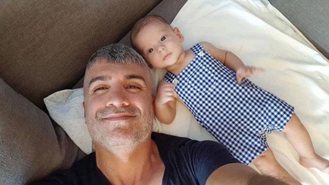 Feyza Aktan Deniz ile evlenen Özcan Deniz oğlu Kuzey ile fotoğrafını paylaştı - Magazin haberleri
