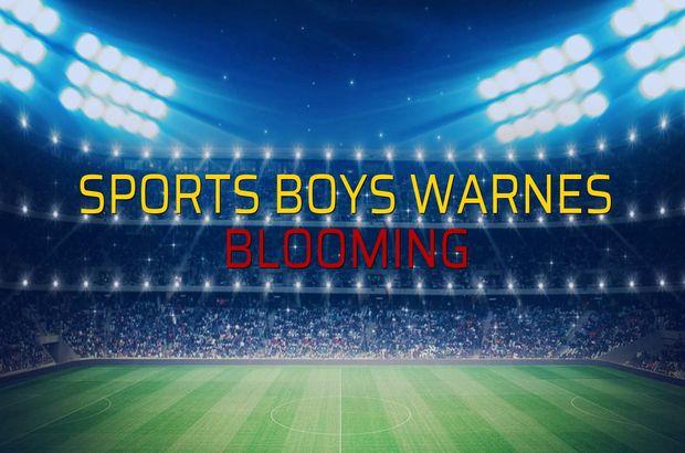 Sports Boys Warnes: 1 - Blooming: 0 (Maç sona erdi)