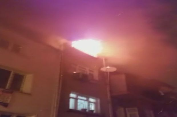 fatih'ta yangın