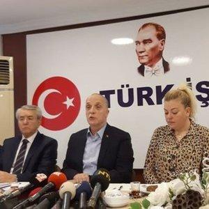 'ASGARİ ÜCRET ARTIŞI İÇİN KIRMIZI ÇİZGİMİZ ENFLASYON'