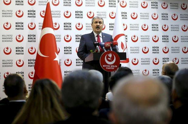 BBP'den, AK Parti'ye Ankara ve İzmir'de destek!