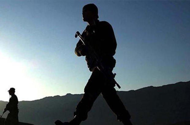 Suriye sınırında bir terörist yakalandı