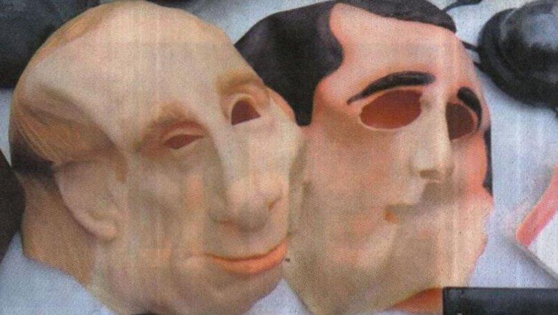 Putin maskeli gasp