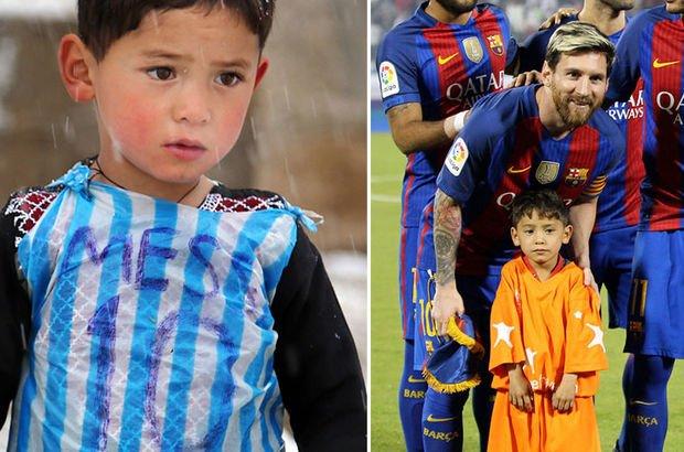 Poşetten Messi forması yapan Murtaza Ahmedi Taliban'dan kaçıyor