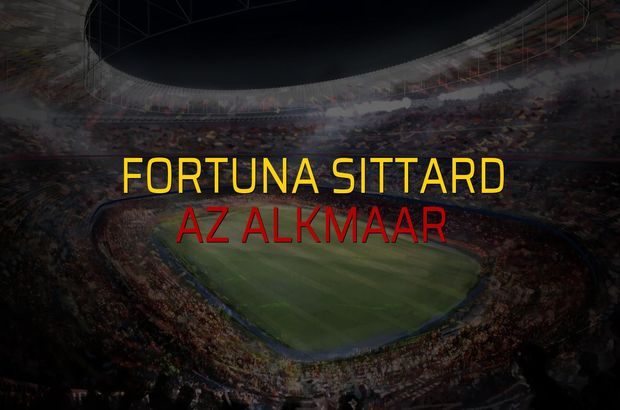 Fortuna Sittard: 0 - Az Alkmaar: 3 (Maç sona erdi)