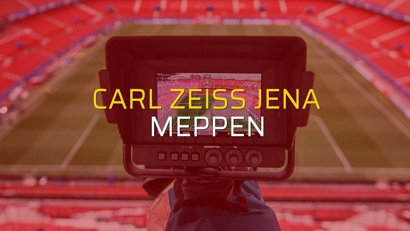 Maç sona erdi: Carl Zeiss Jena: 1 - Meppen:2