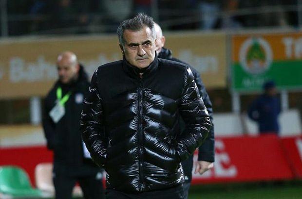 Şenol Güneş Beşiktaş  Alanyaspor