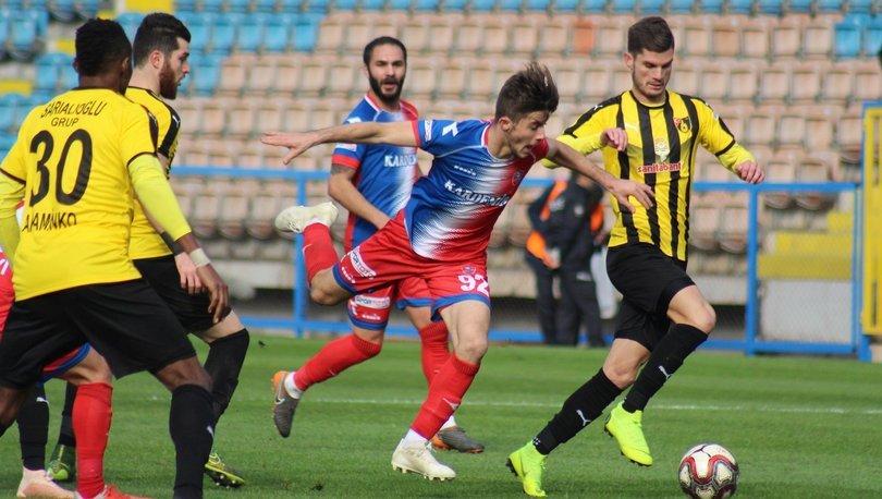 Karabükspor: 1 - İstanbulspor: 1