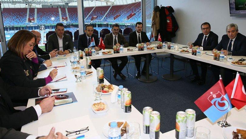 Trabzonspor yönetim görev dağılımı