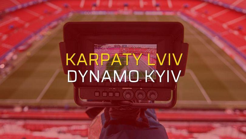 Karpaty Lviv: 0 - Dynamo Kyiv: 2 (Maç sona erdi)