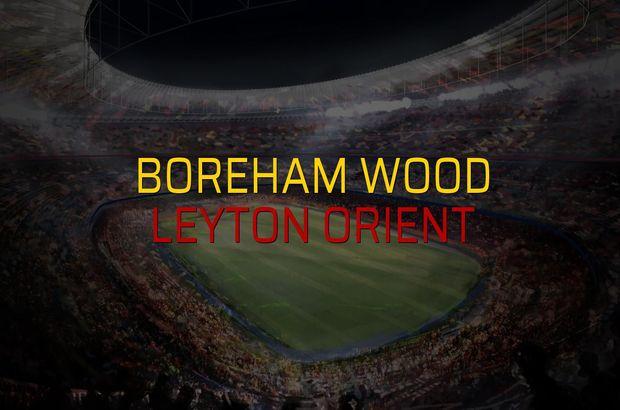 Boreham Wood: 1 - Leyton Orient: 0