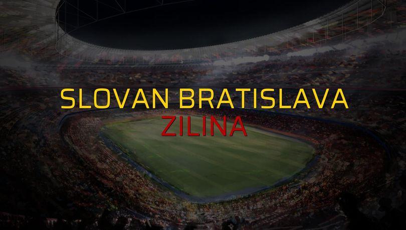 Slovan Bratislava: 5 - Zilina: 1 (Maç sonucu)