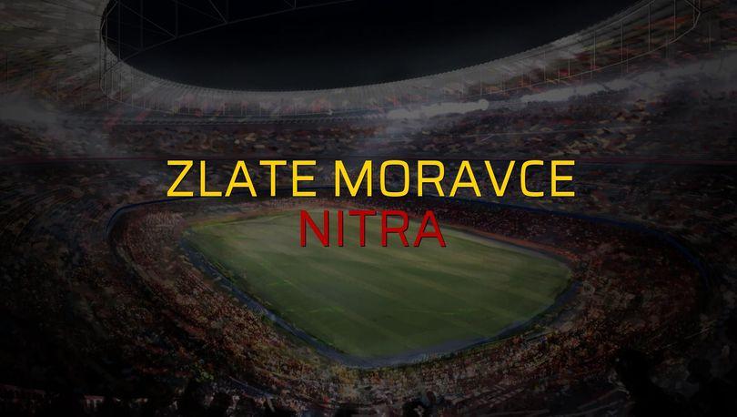 Zlate Moravce: 0 - Nitra: 1 (Maç sonucu)