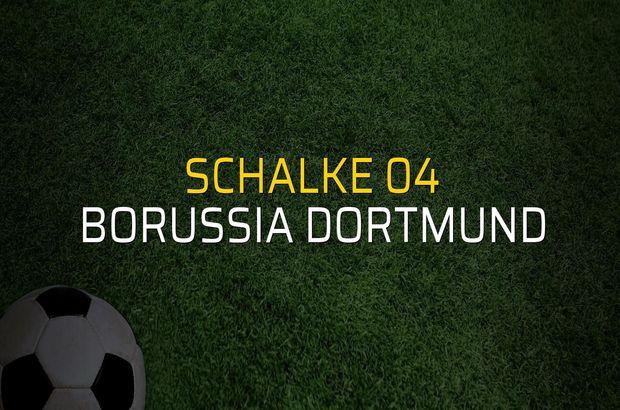 Maç sona erdi: Schalke 04: 1 - Borussia Dortmund:2