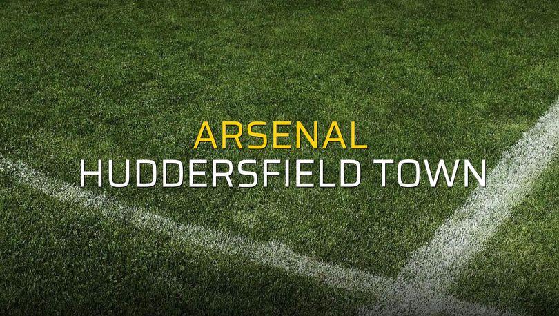 Arsenal: 1 - Huddersfield Town: 0 (Maç sonucu)